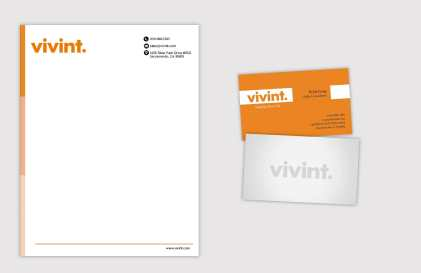 Vivint Marketing Collateral