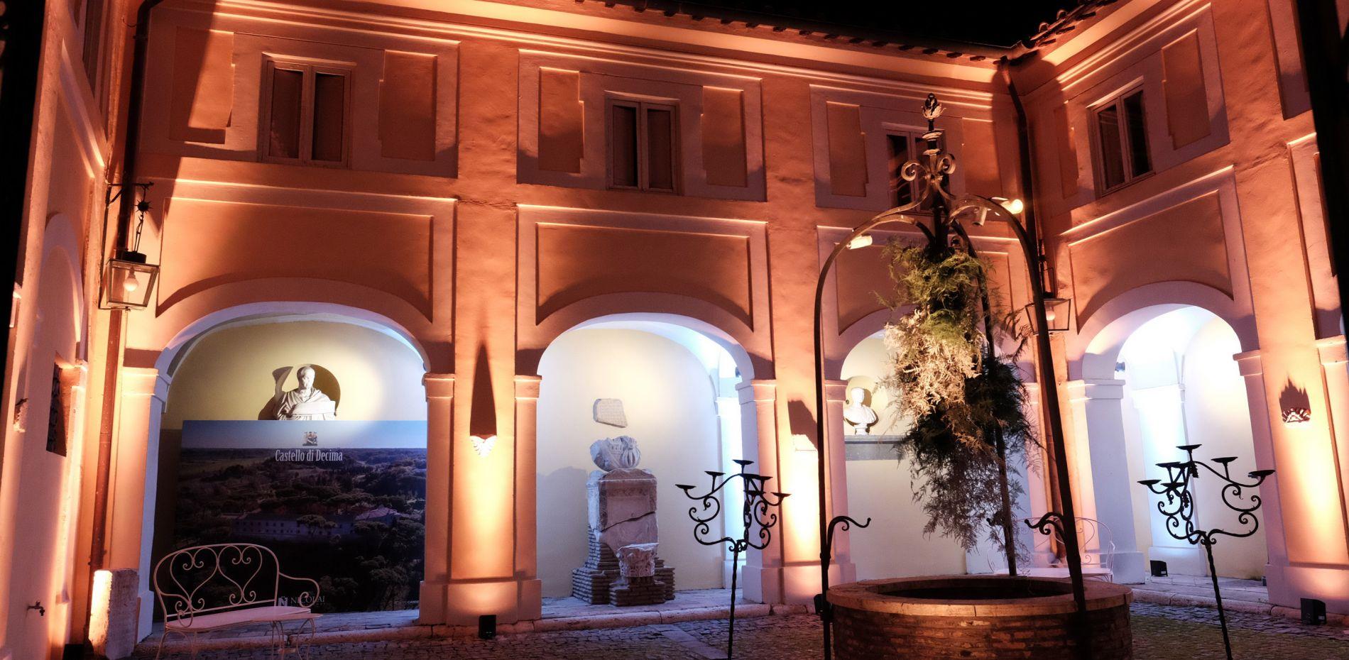 CAstelo di Decima per Maria RIta Ferrari Wedding Planner