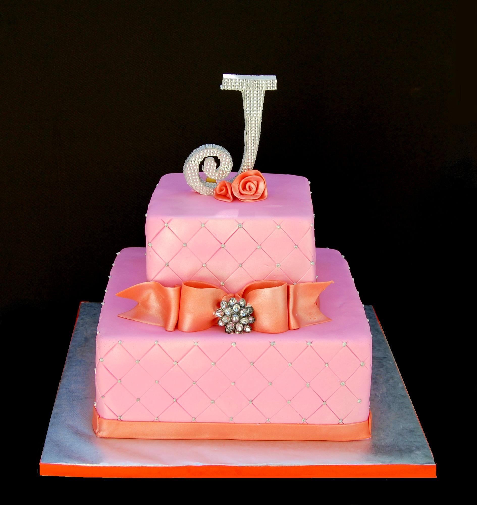 A 25th Birthday Cake