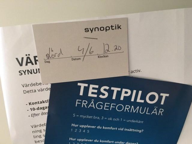 Testpilot Synsam
