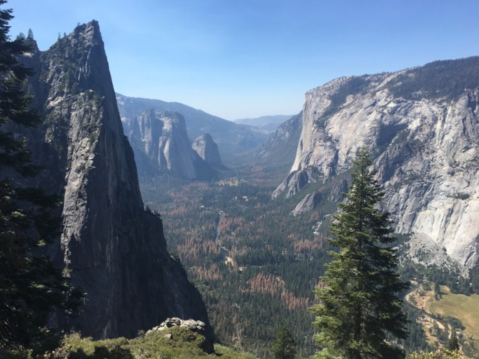 Yosemite - Four mile trail
