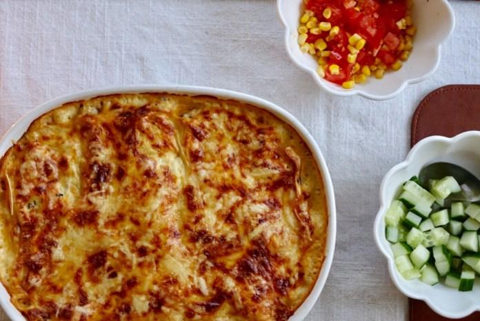 Lasagne med kantarellsmak