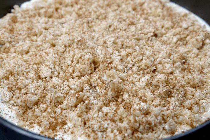 Äppelcheesecake