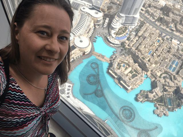 At the top i Dubai