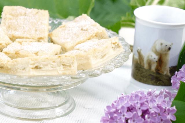 Vaniljrutor med rabarber