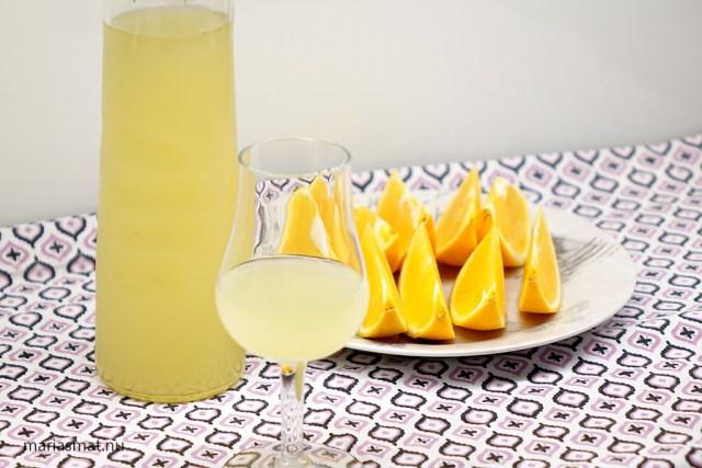 Ingefärashots med apelsin