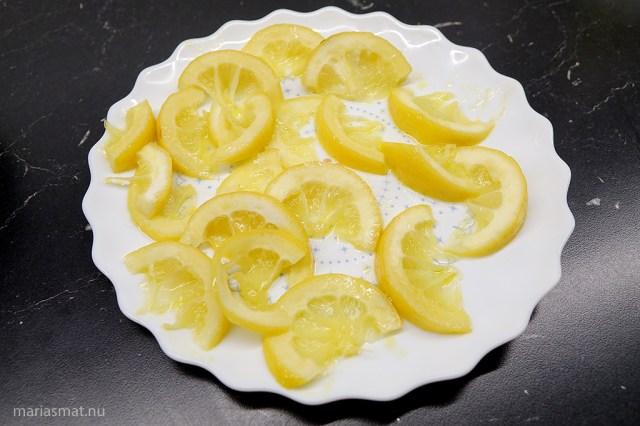 Citronkyckling med nudlar