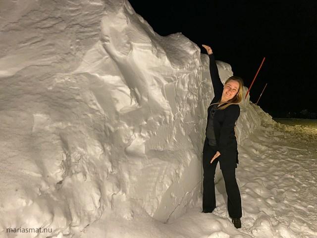 Mycket snö Björkliden