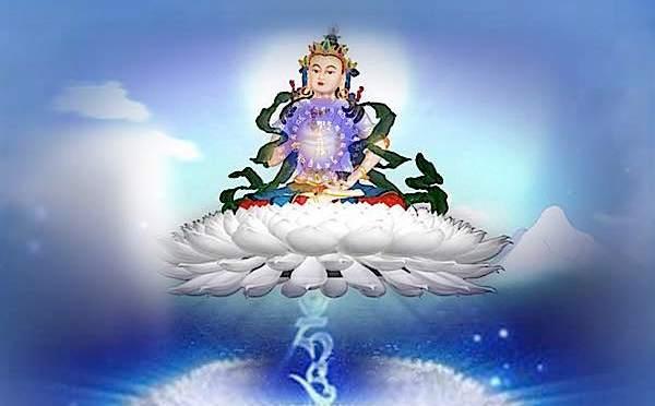 Kwan Yin-Sarasvati-Vajrasattva vormen éénheid met Dolfijnenkracht & de Zilveren Straal