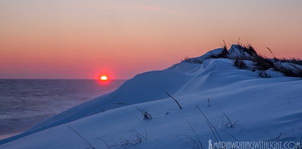 martha's vineyard sunset