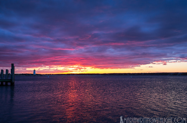 martha's vineyard wedding photographer, edgartown lighthouse sunrise