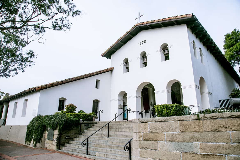 Misión de San Luis Obispo, California.