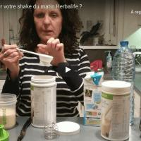 Comment préparer votre shake Herbalife ?