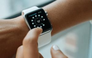 using a smartwatch