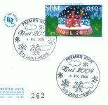 Timbre Noël 2004