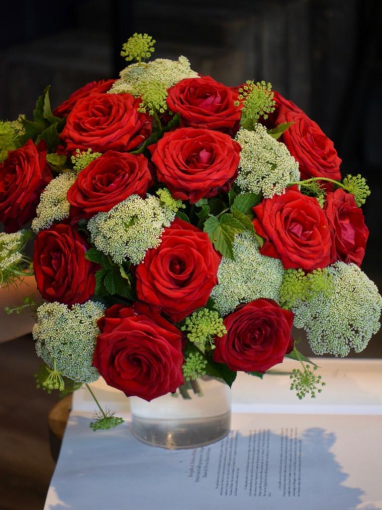 Bouquet de roses rouges - Marie Paolini