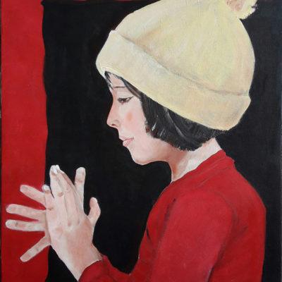 Marie Colombier Acrylique sur toile. 54x65cm. Ref 050