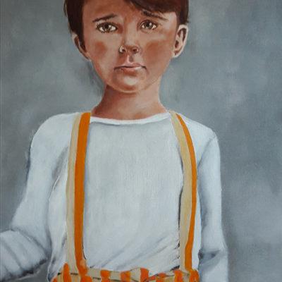 Marie Colombier Acrylique sur toile. 60x80cm. Ref 054