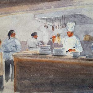 Elba, Hotel, Masterchef, cook