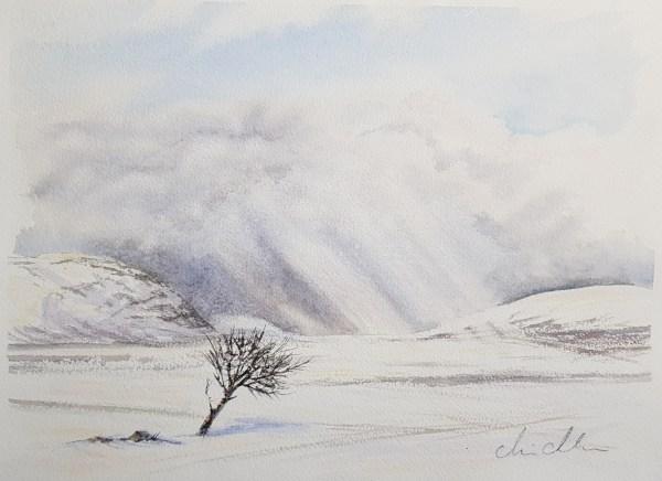 Snöstorm Anaris