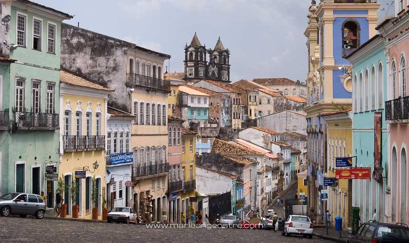 Brésil, quartier du Pelourinho à Salvador de Bahia © Marie-Ange Ostré