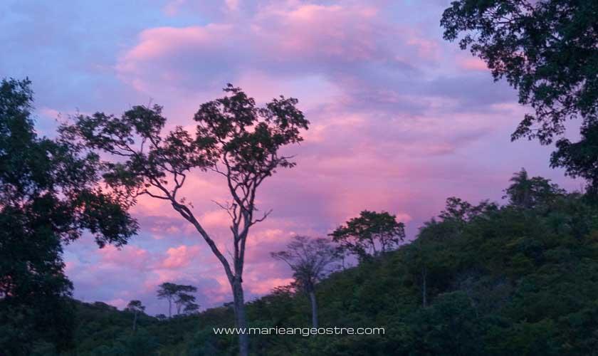 Brésil, coucher de soleil sur Bonito © Marie-Ange Ostré