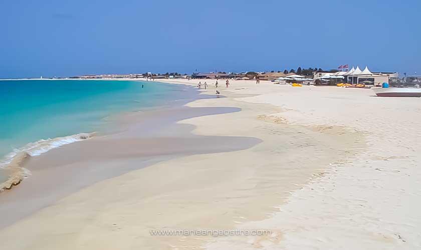 Cap-Vert, plage de l'hôtel Morabeza, île de Sal © Marie-Ange Ostré