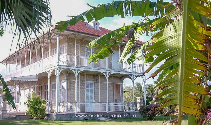 Guadeloupe, maison coloniale © Marie-Ange Ostré