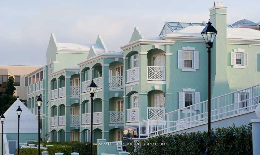 îles des Bermudes, architecture de Hamilton © Marie-Ange Ostré