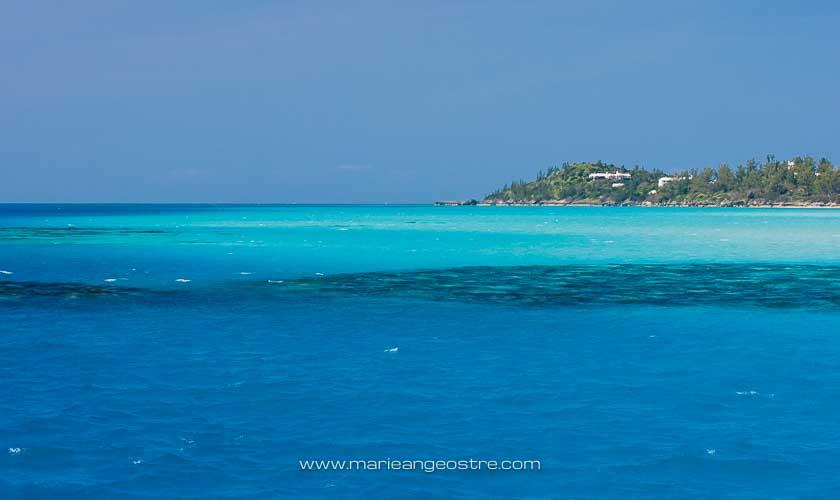 îles des Bermudes, lagon aux tortues © Marie-Ange Ostré
