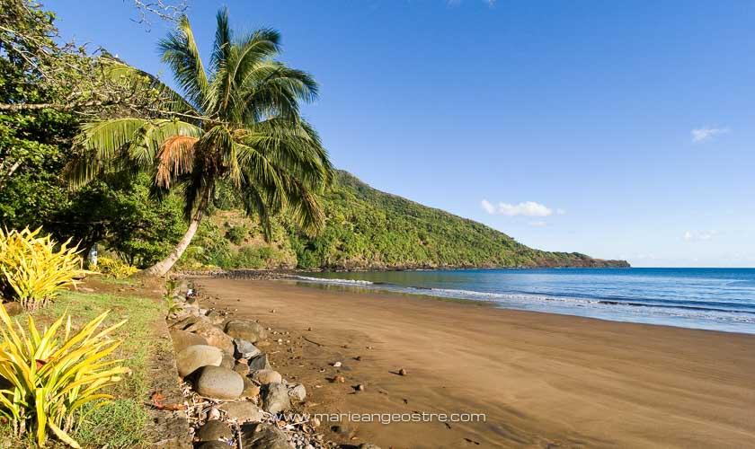 Marquises, plage de Hatiheu, île de Nuku Hiva © Marie-Ange Ostré