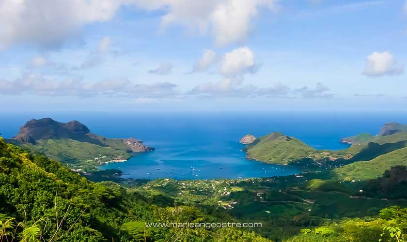 Marquises, baie de Taiohae, île de Nuku Hiva © Marie-Ange Ostré