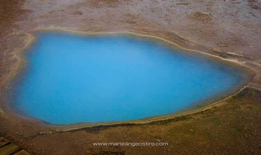 Islande sur le site de Geysir © Marie-Ange Ostré