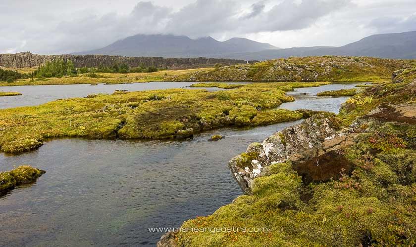 Islande, faille de Silfra dans le parc national de Þingvellir © Marie-Ange Ostré