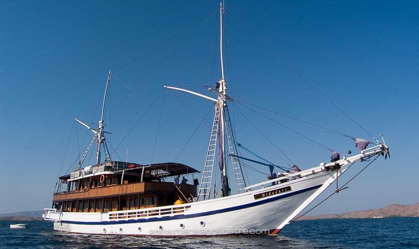 Indonésie, bateau Bidadari © Marie-Ange Ostré