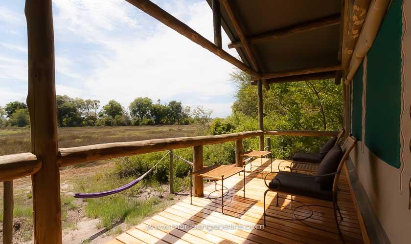 Botswana, lodge Abu Camp dans l'Okavango © Marie-Ange Ostré