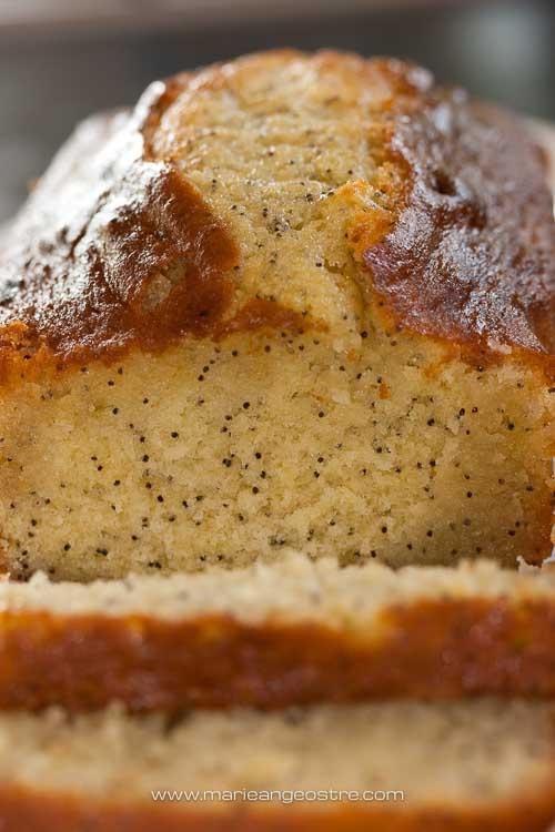 Irlande du Nord, gâteau au citron et au pavot © Marie-Ange Ostré
