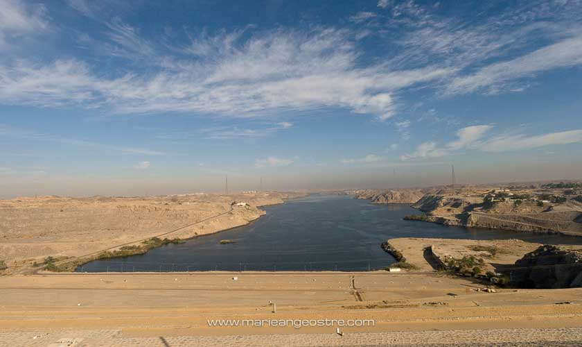 Egypte, le lac Nasser, Assouan, proche d'Abu Simbel © Marie-Ange Ostré