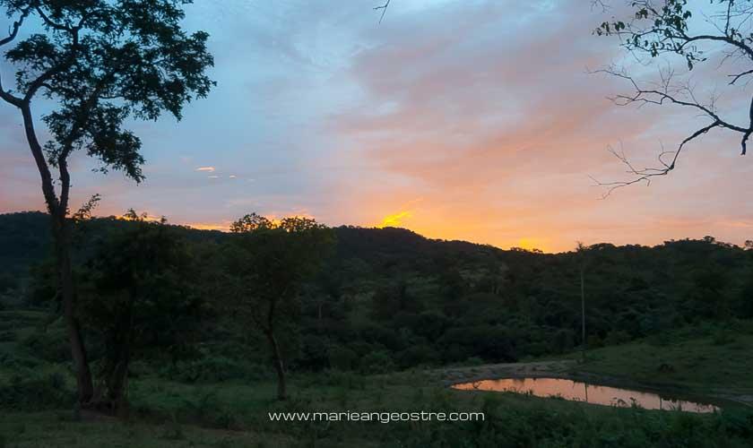 Brésil, coucher de soleil dans le Mato Grosso do Sul © Marie-Ange Ostré