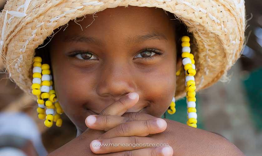 Bahamas, petite fille bahaméenne © Marie-Ange Ostré