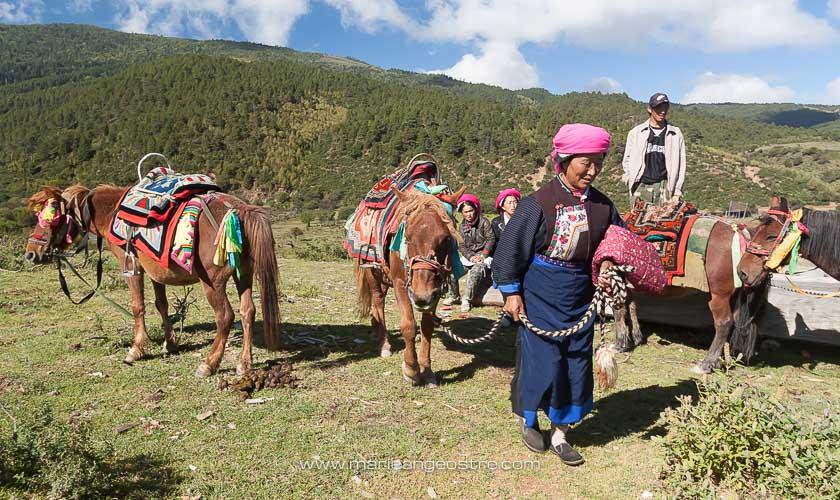 Chine, population tibétaine, province de Shangri-La © Marie-Ange Ostré
