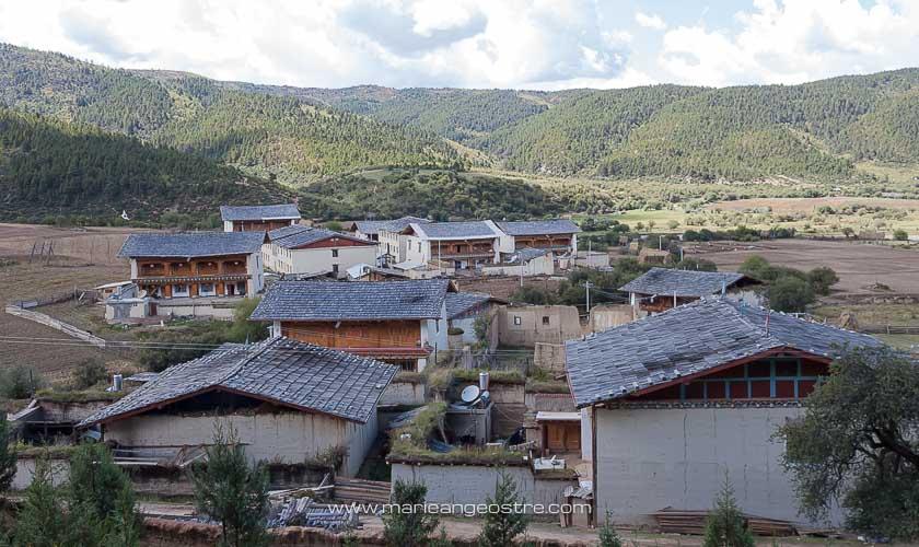 Chine, village tibétain, province de Shangri-La © Marie-Ange Ostré