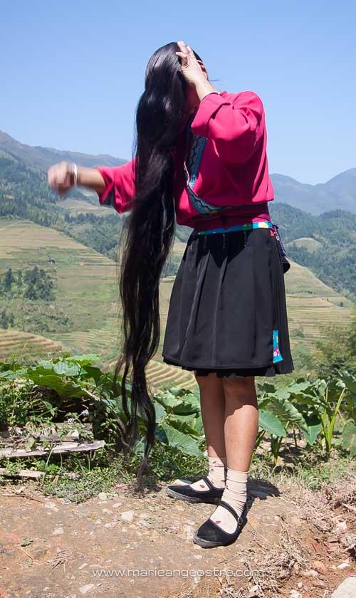Chine, femme Yao, Longsheng province du Guangxi © Marie-Ange Ostré