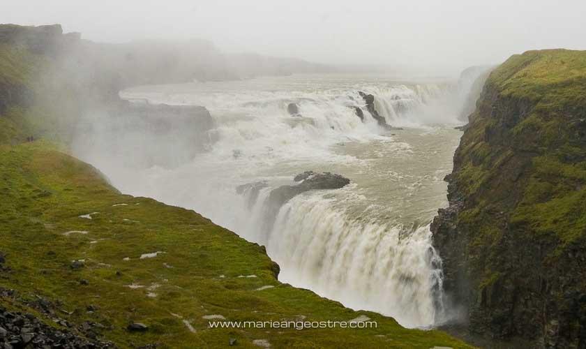 Islande chutes de Gullfoss © Marie-Ange Ostré