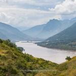 Chine, paysage sur la route entre Yunnan et Tibet © Marie-Ange Ostré