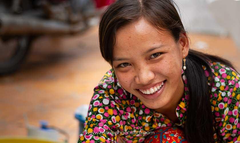 Vietnam, jeune fille du Mekong © Marie-Ange Ostré