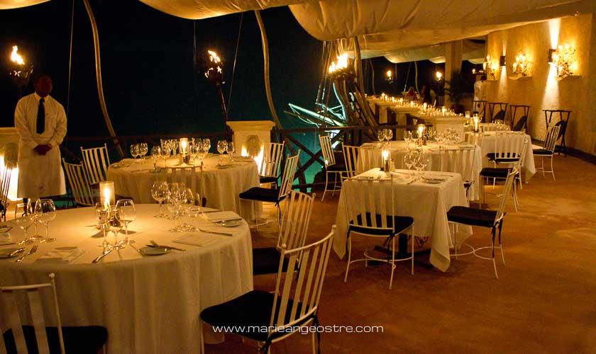 île de la Barbade, restaurant The Cliff © Marie-Ange Ostré