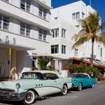 U.S.A., Collins avenue à Miami Beach, Floride © Marie-Ange Ostré