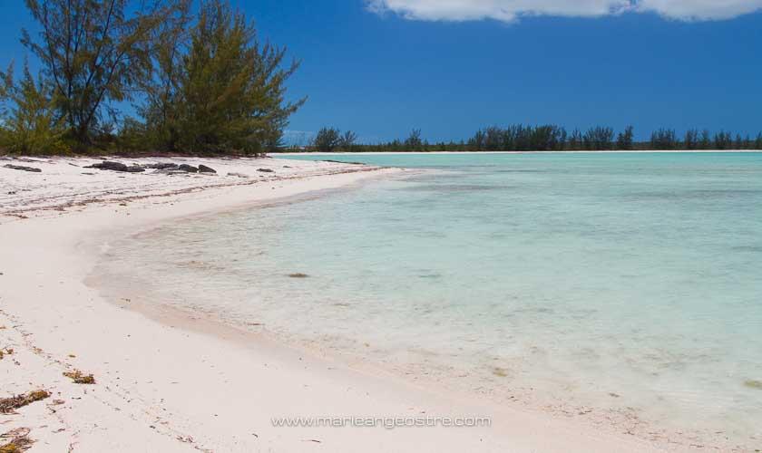 Bahamas, Tranquillity Beach sur Crooked Island © Marie-Ange Ostré