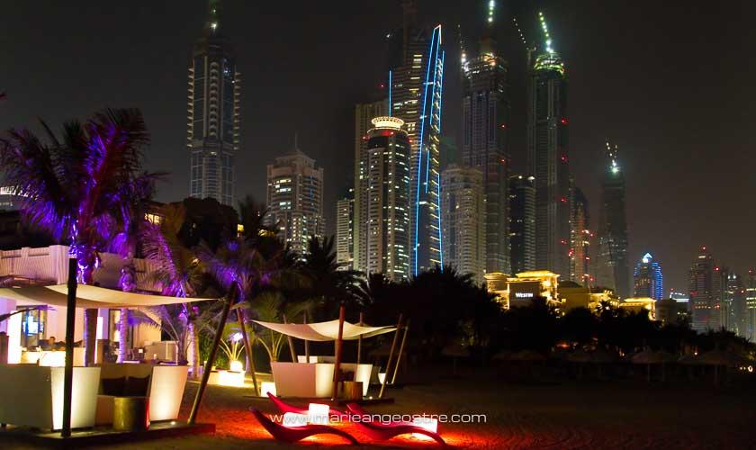 Dubai, de nuit © Marie-Ange Ostré